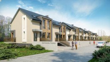 Budowa szeregówek w Częstochowie - TRANSWOJ-BIS - Usługi budowlane - Generalny Wykonawca Inwestycji - Wynajem zwyżek Częstochowa - Budowa domów