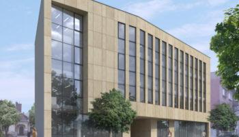 Budowa budynku usługowego w Częstochowie - TRANSWOJ-BIS - Usługi budowlane - Generalny Wykonawca Inwestycji - Wynajem zwyżek Częstochowa - Budowa domów