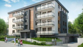 Budowa budynku wielorodzinnego w Gliwicach - TRANSWOJ-BIS - Usługi budowlane - Generalny Wykonawca Inwestycji - Wynajem zwyżek Częstochowa - Budowa domów