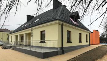 Rozbudowa istniejącego przedszkola  w Węglowicach - TRANSWOJ-BIS - Usługi budowlane - Generalny Wykonawca Inwestycji - Wynajem zwyżek Częstochowa - Budowa domów