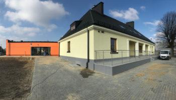 Rozbudowa przedszkola w Węglowicach jako Generalny Wykonawca #02 » Prace realizowane przez TRANSWOJ-BIS Sp. z o.o. » TRANSWOJ-BIS » Usługi budowlane - Generalny Wykonawca Inwestycji - Wynajem zwyżek Częstochowa - Budowa domów