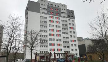 Docieplenie budynku wielorodzinnego - wieżowca - TRANSWOJ-BIS - Usługi budowlane - Generalny Wykonawca Inwestycji - Wynajem zwyżek Częstochowa - Budowa domów