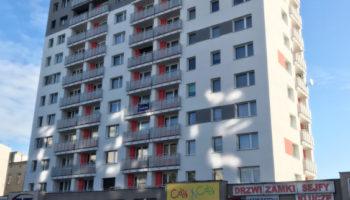 Docieplenie budynku mieszkalnego przy ul. Wilsona w Częstochowie #03 » Prace realizowane przez TRANSWOJ-BIS Sp. z o.o. » TRANSWOJ-BIS » Usługi budowlane - Generalny Wykonawca Inwestycji - Wynajem zwyżek Częstochowa - Budowa domów
