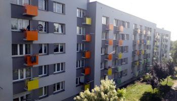 Docieplenie budynku wielorodzinnego - TRANSWOJ-BIS - Usługi budowlane - Generalny Wykonawca Inwestycji - Wynajem zwyżek Częstochowa - Budowa domów