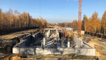 Budowa, jako Generalny Wykonawca, bloku w Częstochowie - Parkland #03 » Prace realizowane przez TRANSWOJ-BIS Sp. z o.o. » TRANSWOJ-BIS » Usługi budowlane - Generalny Wykonawca Inwestycji - Wynajem zwyżek Częstochowa - Budowa domów