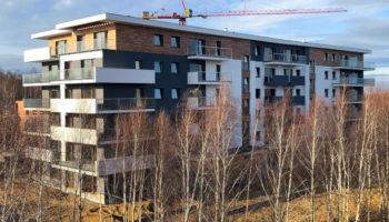 Budowa, jako Generalny Wykonawca, bloku w Częstochowie - Parkland #05 » Prace realizowane przez TRANSWOJ-BIS Sp. z o.o. » TRANSWOJ-BIS » Usługi budowlane - Generalny Wykonawca Inwestycji - Wynajem zwyżek Częstochowa - Budowa domów