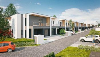 Zabudowa szeregowa w Częstochowie - TRANSWOJ-BIS - Usługi budowlane - Generalny Wykonawca Inwestycji - Wynajem zwyżek Częstochowa - Budowa domów