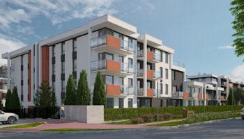 Budowa dwóch budynków mieszkalnych wielorodzinnych (segment A  i B) w Częstochowie - TRANSWOJ-BIS - Usługi budowlane - Generalny Wykonawca Inwestycji - Wynajem zwyżek Częstochowa - Budowa domów