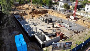Budowa, jako Generalny Wykonawca, bloków w Częstochowie - Cognor #01 » Prace realizowane przez TRANSWOJ-BIS Sp. z o.o. » TRANSWOJ-BIS » Usługi budowlane - Generalny Wykonawca Inwestycji - Wynajem zwyżek Częstochowa - Budowa domów