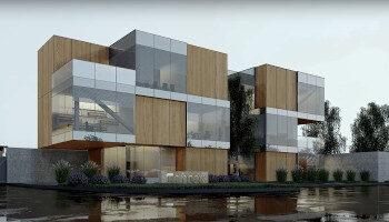 Budowa budynku biurowego - P.H.U Center - TRANSWOJ-BIS - Usługi budowlane - Generalny Wykonawca Inwestycji - Wynajem zwyżek Częstochowa - Budowa domów